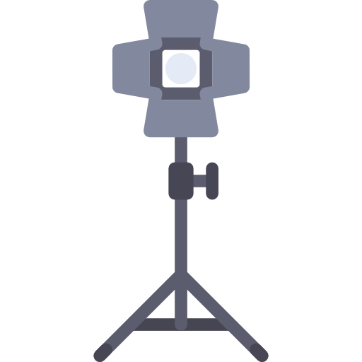 Explainer video icon of lights